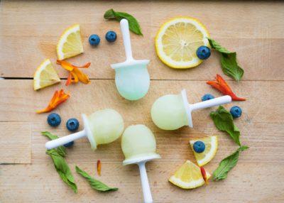 hielos con nutrientes para la piel