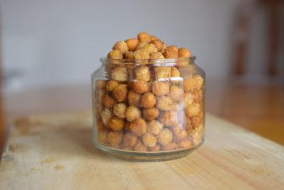 Snack de garbanzos crujientes3